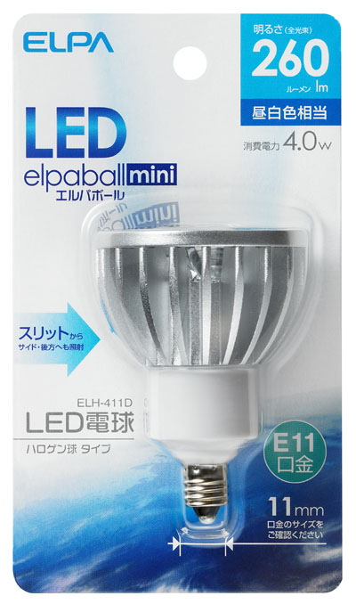 elpaball mini ELH-411D [昼白色相当]