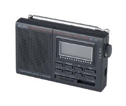 液晶付 AM/FM 短波ラジオ(ER-21T-N)