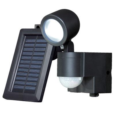 (ソーラー)LED×1灯・防雨センサーライト(太陽電池) ESL-301SL ...